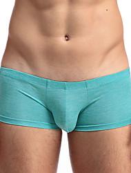 abordables -Hombre Slip Un Color Baja cintura