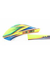X380 Teile & Zubehör RC Hubschrauber Blau / Gelb 1 Stück