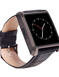 Bluetooth Smartwatch Luxury Leather IPS Business Wristwatch For Apple iPhone & Samsung Android Phone