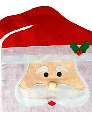 Недорогие -нетканый материал большой рождественский стул наборы 44 * 74см