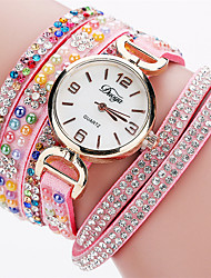 Xu™ Dámské Módní hodinky Náramkové hodinky Křemenný PU Kapela Retro Běžné nošeníČerná Bílá Modrá Červená Hnědá Růžová Fialová Námořnická