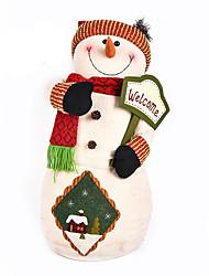 Décoration Décorations de Noël Jouets Bonhomme de neige Articles d'ameublement Garçon Fille Pièces