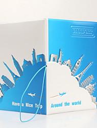 Органайзер для паспорта и документов Водонепроницаемость Компактность Защита от пыли Хранение в дороге для Водонепроницаемость