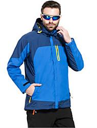 Men's Women's Hiking Windbreaker Waterproof Thermal / Warm Windproof Anti-Insect Breathable Windbreaker Softshell Jacket Top for Camping