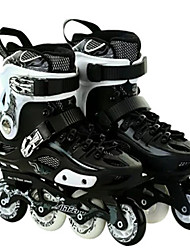 Adults' Inline Skates Anti-Shake/Damping Breathable Wearproof Adjustable Protective ABEC-7 - White/Black/Red