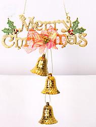 1шт 2colour рождественские украшения подарки роль ofing Рождественская елка украшения Рождественский подарок повесить actthe роль колокол