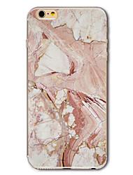 preiswerte -Für iPhone X iPhone 8 iPhone 7 iPhone 7 Plus iPhone 6 Hüllen Cover Muster Rückseitenabdeckung Hülle Marmor Weich TPU für Apple iPhone X