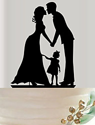 Anniversaire Fête de Mariage Acrylique Décorations de Mariage Printemps Eté Automne Hiver