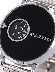 cheap -Men's Quartz Wrist Watch Military Watch Sport Watch Punk Stainless Steel Band Vintage Casual Unique Creative Watch Dress Watch Fashion
