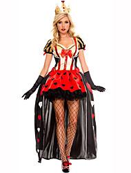 Reine Conte de Fée Féminin Noël Halloween Carnaval Le Jour des enfants Nouvel an Fête d'Octobre Fête / Célébration Déguisement d'Halloween