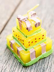 economico -Le candele della torta di cerimonia nuziale di 4pcs favoriscono i regali del destinatario 3.5 di 3.5 x 4.2cm / pcs dei regali di beter