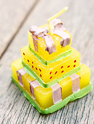 4pcs Wedding Cake candles BeterWedding Favors 3.5 x 3.5 x 4.2cm/pcs Beter Gifts® Recipient Gifts