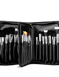 cheap -29 pcs Professional Makeup Brushes Makeup Brush Set Goat Hair Brush / Artificial Fibre Brush / Horse Professional / Full Coverage Wood
