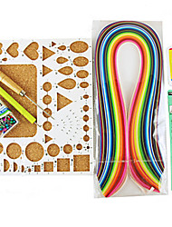 cheap -400PCS Quilling Paper DIY Craft Art Decoration Kit / 7PCS Set