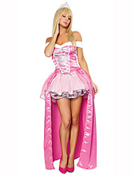 Princess Fairytale Female Halloween Christmas Carnival Children's Day New Year Oktoberfest Festival/Holiday Halloween Costumes Pink Print
