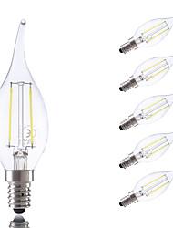 preiswerte -GMY® 250 lm E14 LED Glühlampen B 2 Leds COB Warmes Weiß Kühles Weiß Wechselstrom 220-240V