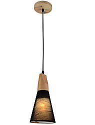 cheap -MAX60W Pendant Light   Country Others Feature for Designers Wood/BambooLiving Room / Bedroom / Dining Room