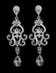 cheap -The New Style Heart Waterdrop Earrings