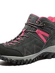 baratos -Mulheres Sapatos Camurça Primavera / Verão / Outono Conforto Tênis Aventura / Corrida em Pista Cinzento / Roxo