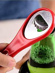 abridor de tênis raquete de squash forma de garrafa (cor aleatória) 9.5 * 4 * 0,5 centímetros