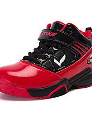 Para Meninos-Tênis-Conforto-Rasteiro-Azul Vermelho-Couro Ecológico-Casual