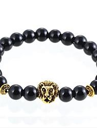 Bracelet Strand Bracelet Agate Daily / Casual Jewelry Gift Black,1pc