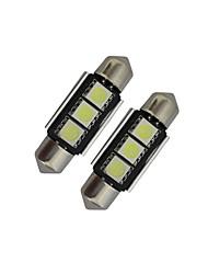 povoljno -60-70 lm Festoon Ukrasna svjetla 3 LED diode SMD 5050 Hladno bijelo DC 12V