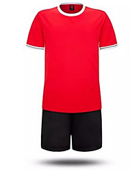 Per uomo Bambini Calcio Shorts + Set di vestiti Ompermeabile Tenere al caldo Asciugatura rapida Antivento Zip anteriore Traspirante