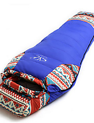 cheap -Sleeping Bag Mummy Bag Duck Down 10°C Keep Warm Well-ventilated Waterproof Portable Windproof Rain-Proof Foldable Sealed 230X100 Camping