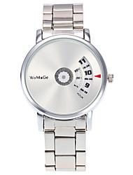 Недорогие -Женские Модные часы / Наручные часы Кварцевый / Нержавеющая сталь Группа Heart Shape / Cool / Повседневная Серебристый металл марка