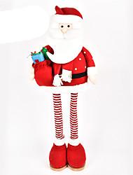 Недорогие -Костюмы Санта Клауса Elk Олень Рождественский декор Новогодние подарки Милый Предметы интерьера Мультяшная тематика Высокое качество Мода текстильный Мальчики Девочки Игрушки Подарок