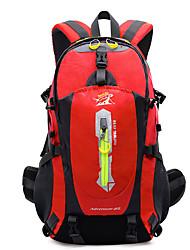 40 L Zaini da escursionismo Campeggio e hiking All'aperto Impermeabile / Resistente agli urti / IndossabileGiallo / Verde / Rosso / Nero