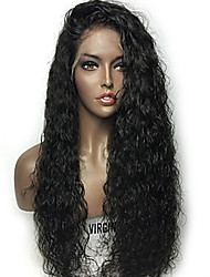 New Arrival Virgin Brazilian Human Hair 13x6 Lace Front Wig 10-26 inch 130 Density Water Wave Lace Front Wig