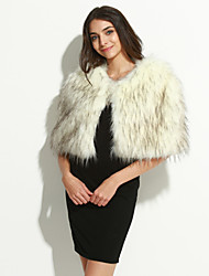 cheap -Ms fashion for autumn/winter warm imitation fur shawl Ma3 jia3 butterfly unlined upper garment