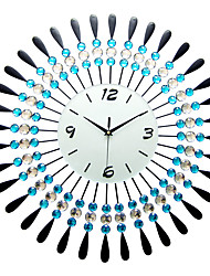 Modern/Contemporary Houses Wall ClockOthers Acrylic / Glass / Metal 60*60cm Indoor Clock