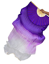 cheap -Belly Dance Stage Props Women's Performance Silk Ruched Wand