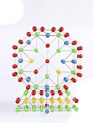 economico -Magneti giocattolo 60 Pezzi 5 MM Magneti giocattolo Gioco educativo Giocattoli esecutivi Cubo a puzzle per il regalo