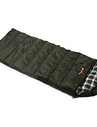 Sacco a pelo A mummia Singolo 10 Anatra 1000g 230X100 Campeggio / Viaggi / Al CopertoImpermeabile / Anti-pioggia / Anti-vento / Ben