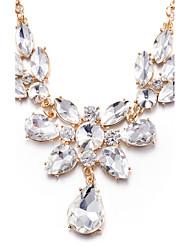 cheap -Women's Personalized Unique Design Pendant Rhinestone Fashion Euramerican Pendant Necklace Statement Necklace Synthetic Diamond Alloy