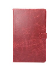 cheap -Case For Huawei Full Body Cases Tablet Cases Solid Color Hard PU Leather for