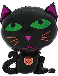 Недорогие -Воздушные шары Кошка Творчество Надувной Алюминий Мальчики Девочки Игрушки Подарок