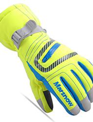 Mănuși de Iarnă Mănuși Ski de Copil Deget Întreg Keep Warm Rezistent la Vânt Nailon Bumbac Schiat Sporturi de Agrement Toamnă Iarnă