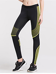Women's Running Tights Running Baselayer Gym Leggings Quick Dry Breathable Compression Lightweight Materials Sweat-wicking Tights Bottoms