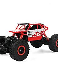 お買い得  -RCカー 4WD ハイスピード ドリフトカー レーシングカー オフロードカー ロッククライミングカー バギー(オフロード) 1:18 KM / H リモートコントロール 充電式 エレクトリック 楽しい 子供用 クラシック