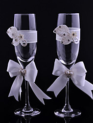 Crystal Toasting Flutes 1 Non-personalised Gift Box Wedding Reception