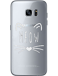 cheap -Meow Soft Material For Compatibility TPU For Samsung Galaxy S6 Edge Plus S6 S7 Edge S7