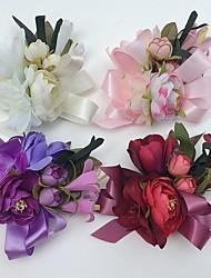Cvijeće za vjenčanje Roses Ljiljani Peonies Boutonnieres Vjenčanje Party / Večernji Saten