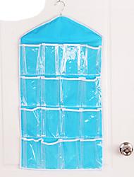 cheap -Door Wardrobe  Hanging Wall Hanging Type  Wardrobe Multi Layer Suspension Type  Bag Hanging Bag 16 Case  (Random Colour)