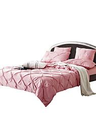 Massiv Bettbezug-Sets 6 Stück Baumwolle / Seide/Baumwolle einfarbig Handgefertigt Baumwolle / Seide/Baumwolleca. 1,90 m breites