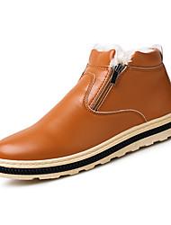 Støvler-PUHerrer-Sort Blå Lysebrun-Fritid